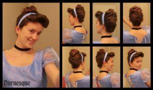 How to: Cinderella's Ballgown Hair by Durnesque