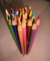 Coloured pencils 5 by Laura-in-china