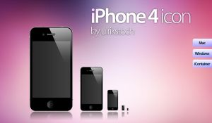 iPhone 4 icon by ulrikstoch