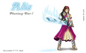 Alis - Phantasy Star 1 by seijiwolf