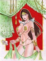 Dejah Thoris (#1) by Rodel Martin by VMIFerrari