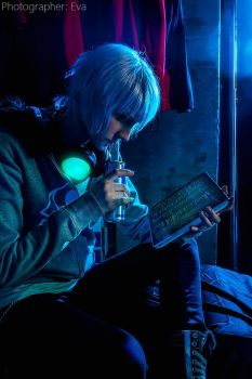 Fisheye Placebo Cosplay FREY black mirrow by KoujiAlone