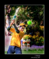 The Cricketer by diablo2097