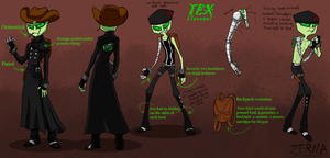 Tex Blood Sport Bioreference by Zerna