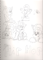 hip hop baby sonic by tailslover42