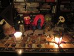 Arkham Horror with dolls by Rei2jewels