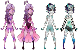 Ethereal Knox Adopts [1/2 OPEN] by caitiecat-adopts