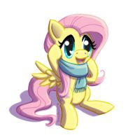 Adorable Fluttershy by Rainspeak