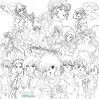 WIP - Macross 30 Years - FINAL by Neldorwen