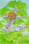 The Boy Who Lived In A Tree by woody2252
