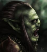 LOTR Orc by AlanPerry