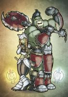 Orc Team by Henderzon