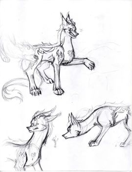 Zein sketches (1/2) by WhenWolvesCryOut