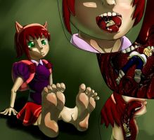 Who fed Annie? Lux! by Zapor666