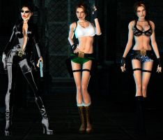 Lara Sexy Pack DL part1 by ZayrCroft