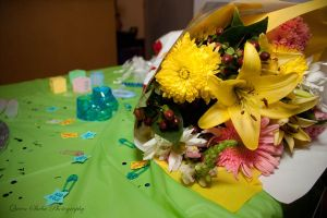 Flowers for the expectant mom by QueenSheba24
