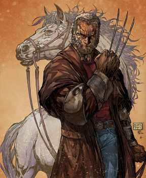 old man logan colors by HaphazardMachine