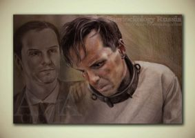 Andrew Scott (Sherlock|James Moriarty) by CitcCitc