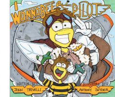 I Wanna Bee a Pilot Cover by lagatowolfwood