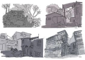 25-28 - Environment Thumbs 02 by Mei-Xing
