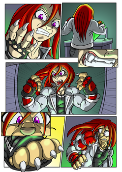 knux comic2 by Black-rat