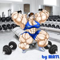 Chun-li Gym by MATL