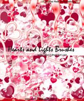 Hearts and Lights Brushes by Coby17