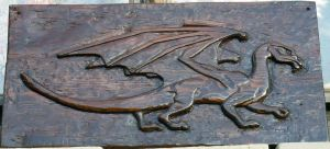 Dragon relief by Hoch-Spannung