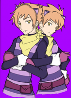 Hitachiin Twins cheshire by ssedudlooc
