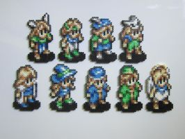 Tactics Ogre Female Classes by 8-BitBeadsStudio