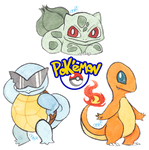 First Gen Starters by JuneRoseXX