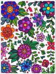 Marker - flower coloring page by srmcneilCA