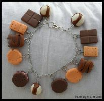 cookies and sweet stuff bracel by dreamylicious