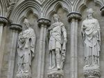 Salisbury Cathedral Statues by Persnicketier