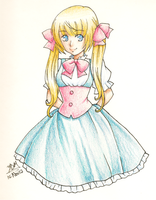 Colored Pencil by yesi-chan