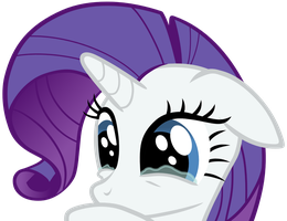 Loop: Sad Rarity by mattyhex