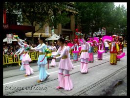 Chinese Dancing by cionia