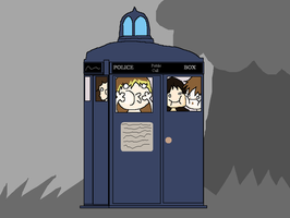 IN THE TARDIS by Dancing-Gothitas