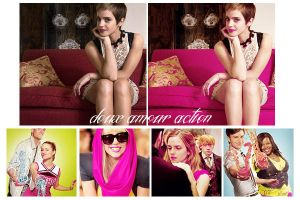 doux amour action by delicatepetals