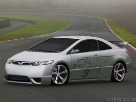 Honda Civic tuning by Damirchek