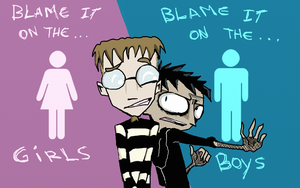 Edgar blame it on the girls - boys by AND888