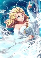 Frozen Let it go by MUSHIboyHANN