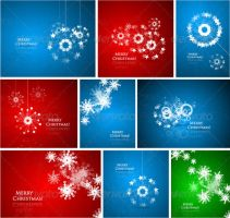 Abstract Christmas composition by FreeIconsFinder