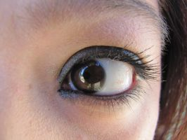 Brown eyed stock by Skysofdreams-Stock