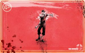 Scout Red Wallpaper by GAVade