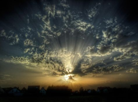 Clouds No11 HDR by Risen-From-The-Ruins