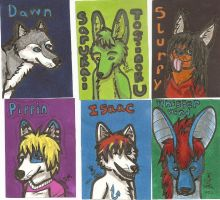 ACEO Badge Dump #1 by Pokebreeder123