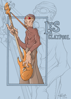 Les Claypool fanart - Why not by dadarulz
