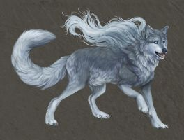 Weremalamute xD by cottondragon