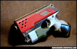 Red Team Sidearm by JohnsonArms